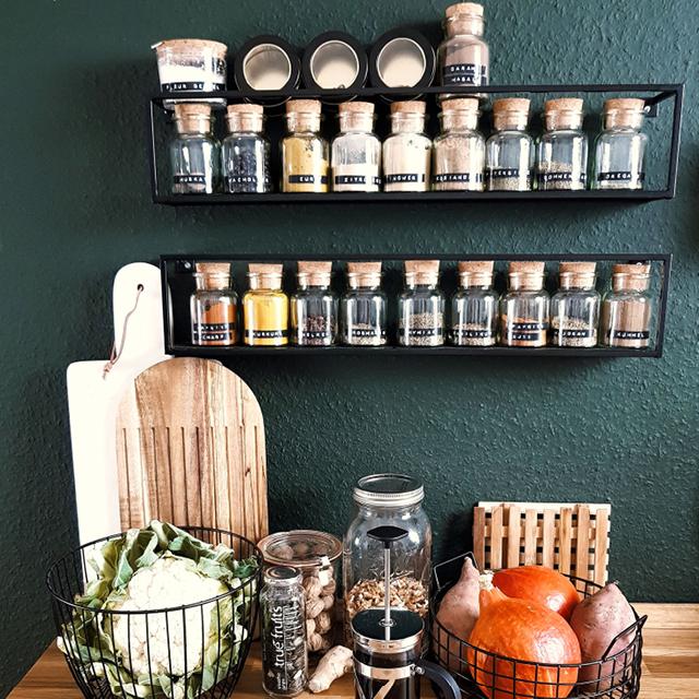 Kitchen Shelves Kitchen Wall Shelves Regalraum