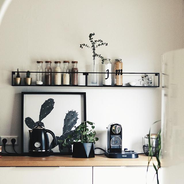 Metallregal schwarz Regal im Industrial Style | REGALRAUM