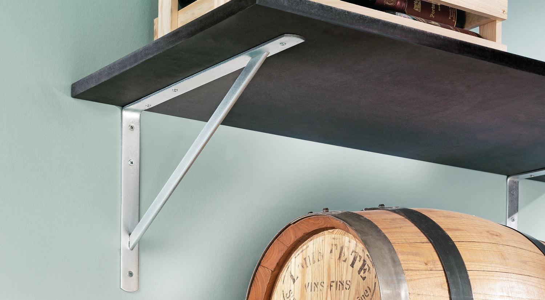 Shelf brackets - BEAM heavy duty shelf bracket