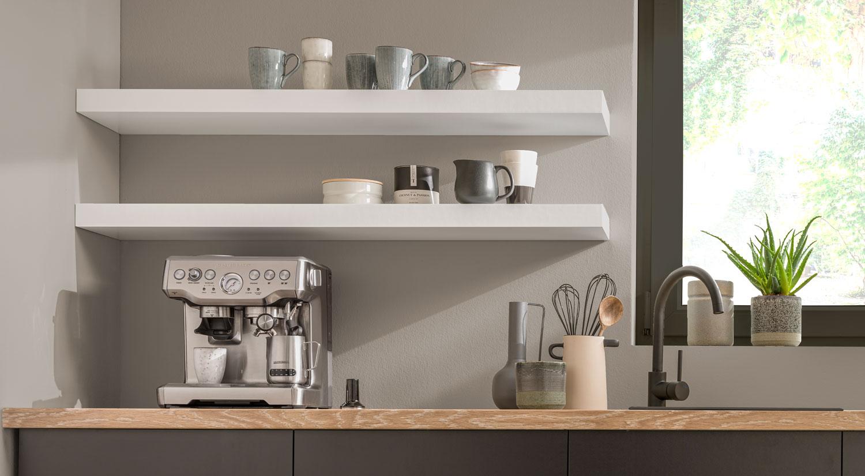 alcove shelving boy bespoke floating shelves white in the kitchen