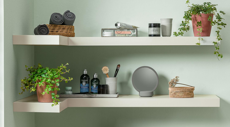 corner wall shelf boy made to measure