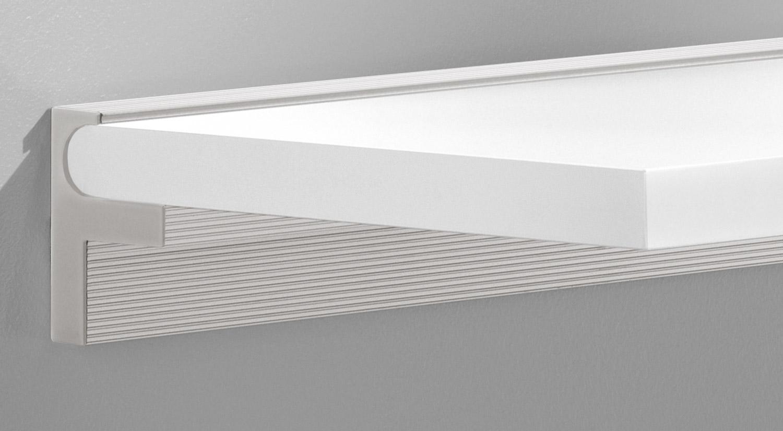 Regalhalter - CUBE-25 Regalbodenträger mit SUMO Regalboden weiß