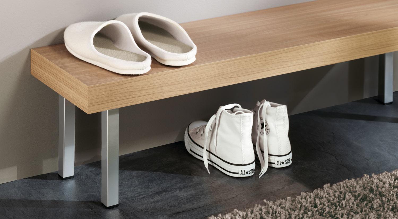 Tischbeine - PLIX Möbelfüße eckig