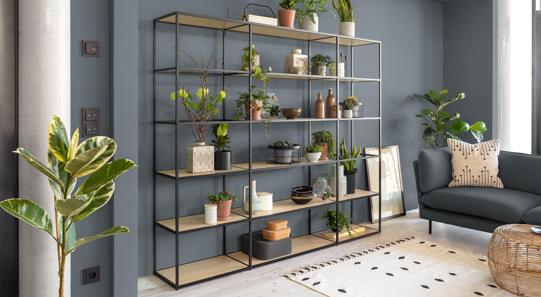 Wohnzimmer Regal - Tolle Designs für Zuhause  REGALRAUM