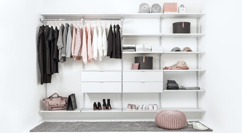 Kleiderschranksystem auch nach Maß | REGALRAUM