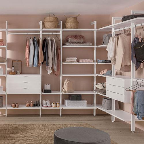 Begehbarer Kleiderschrank Online Planen Kaufen Regalraum