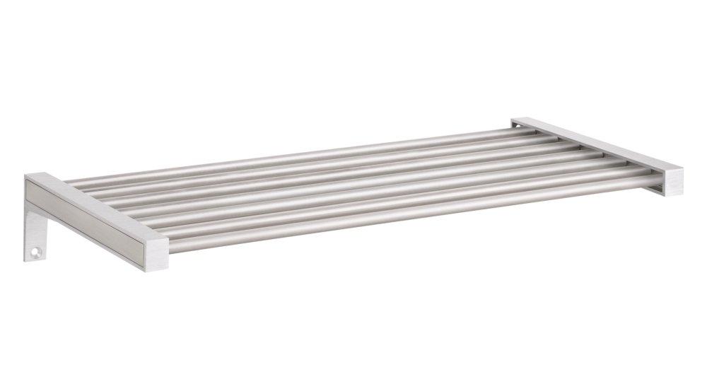 SUMO+BELT Wandregal Metall | 80x30 cm | edelstahl