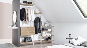 Begehbarer Kleiderschrank » Online planen & kaufen | REGALRAUM