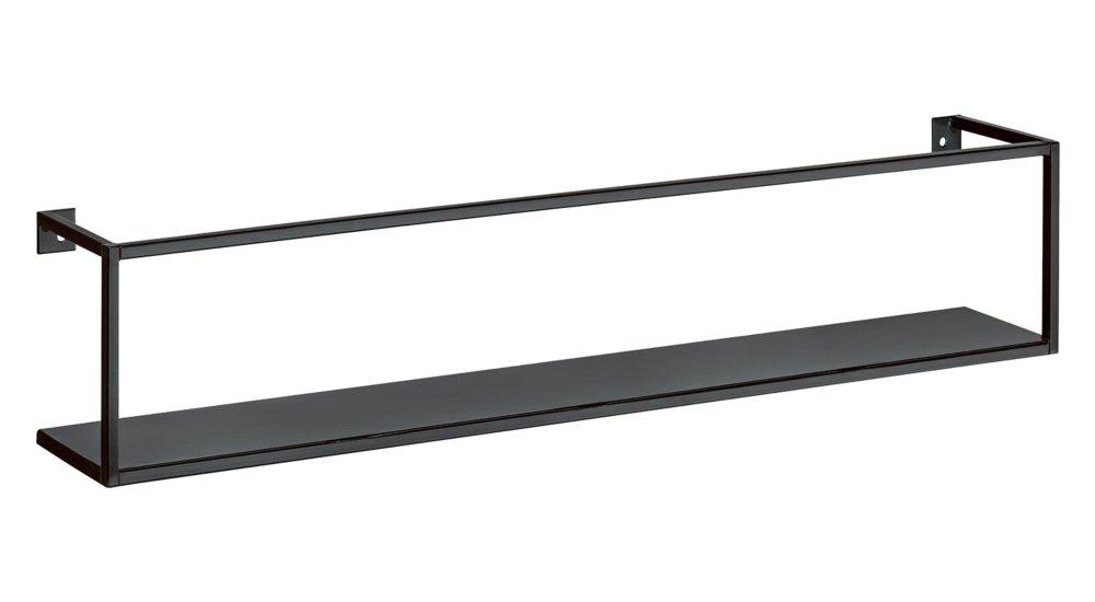 AQUARIUM schwarzes Metall Küchenregal oder Gewürzregal