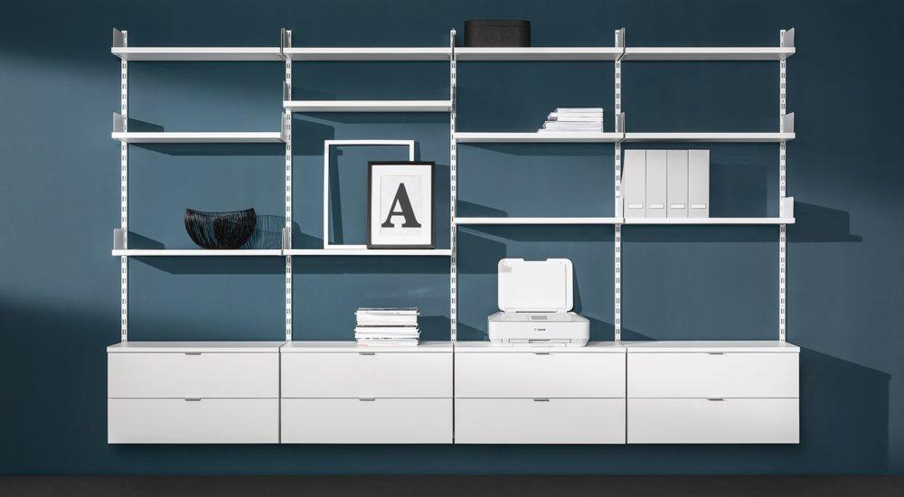 Ikea wandregal weiß in 68723 Oftersheim für € 40,00 zum