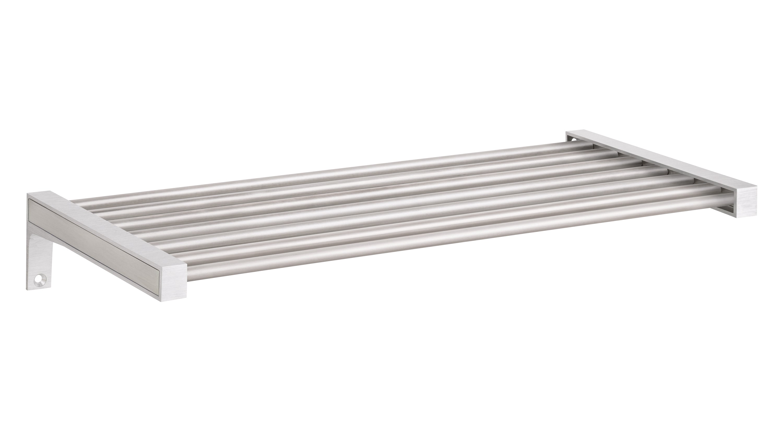 Sumo Belt Wandregal Metall 80x30 Cm Edelstahl Regalraum Com
